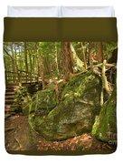 Slippery Rock Creek Bridge Duvet Cover