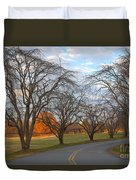 Sloan Park Sunset Duvet Cover
