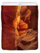 Slot Canyon Detail Corkscrew Or Upper Antelope Slot Canyon Arizona Duvet Cover
