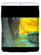 Slot Canyon Duvet Cover