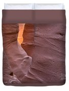 Slot In Palo Duro Canyon 110213.50 Duvet Cover