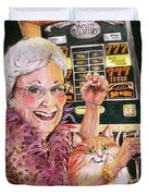 Slot Machine Queen Duvet Cover