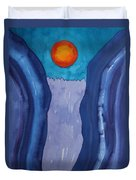 Slot Retablo Original Painting Duvet Cover