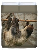 Sloth Duvet Cover by Ellen Henneke