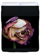 Slow Fade Duvet Cover by Rona Black