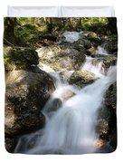 Slow Shutter Waterfall Scotland Duvet Cover