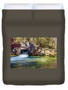 Sluice Gate At Alley Spring Duvet Cover