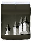 The Small Minarets Duvet Cover