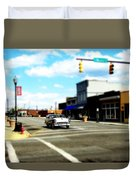 Small Town 3 Duvet Cover