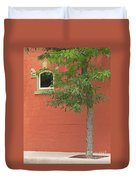 Small Town Color Duvet Cover