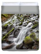 Small Waterfalls In Marlay Park Duvet Cover