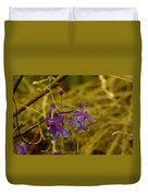 Small Wild Blossoms Duvet Cover