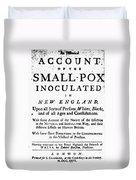 Smallpox: Title Page, 1726 Duvet Cover