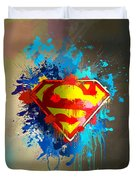 Smallville Duvet Cover by Anthony Mwangi