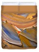 Smeared Paint Duvet Cover