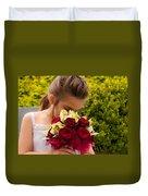 Smelling The Roses 2 Duvet Cover