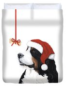 Smile Its Christmas Phone Duvet Cover