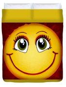 Smiley Sun Duvet Cover