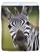 Smiling Burchells Zebra Duvet Cover
