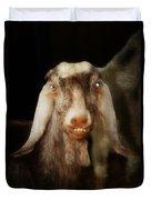 Smiling Egyptian Goat I Duvet Cover