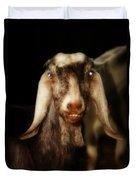 Smiling Egyptian Goat II Duvet Cover