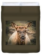 Smiling Elk Duvet Cover