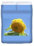 Smiling Sunflower Duvet Cover