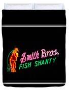 Smith Bros. Fish Shanty Duvet Cover