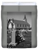 Smith Island Church Duvet Cover