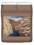 Smith River Forest Canyon Duvet Cover