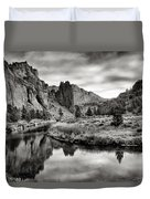 Smith Rock State Park 2 Duvet Cover