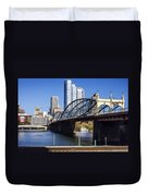 Smithfield Street Bridge Duvet Cover