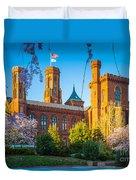 Smithsonian Castle Duvet Cover by Inge Johnsson