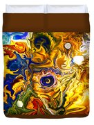 Smoke On The Water Duvet Cover