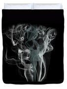 Smoke Skull Duvet Cover