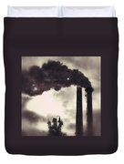 Smoke Stack Duvet Cover