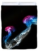 Smoked Jellyfish Duvet Cover