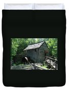 Smoky Mountain Grist Mill Duvet Cover