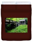 Smoky Mountain Mill Duvet Cover
