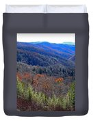 Smokey Mountain Pass Duvet Cover