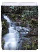 Smokey Mountain Waterfall Duvet Cover