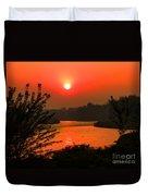Smokey Sunrise Duvet Cover