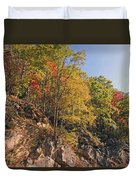 Smoky Mountain Autumn Duvet Cover