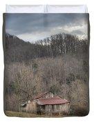 Smoky Mountain Barn 1 Duvet Cover