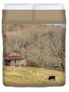 Smoky Mountain Barn 10 Duvet Cover