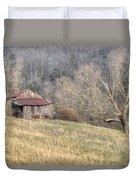 Smoky Mountain Barn 4 Duvet Cover