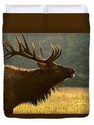 Smoky Mountain Bugle Duvet Cover