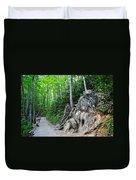 Smoky Mountain Hike Duvet Cover