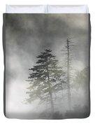 Smoky Mountain Mist Duvet Cover