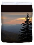 Smoky Mountain Sentinel  Duvet Cover